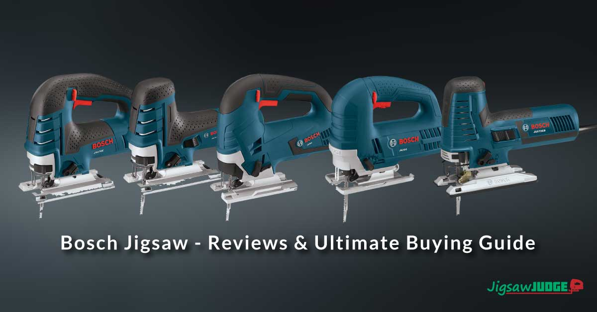 Bosch Jigsaw Reviews